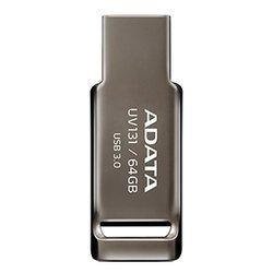 ADATA UV131 64GB - USB Flash driveUSB Flash drive<br>ADATA UV131 64GB - 64 Гб, USB 3.0, материал корпуса: металл
