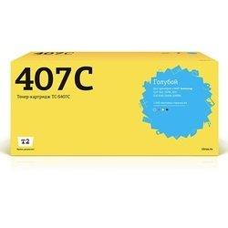 Тонер-картридж для Samsung CLP-310, CLP-310N, CLP-315, CLX-3170FN, CLX-3175, CLX-3175FN, CLX-3175N (T2 TC-S407C) (голубой, с чипом) - Картридж для принтера, МФУКартриджи<br>Совместим с моделями: Samsung CLP-310, CLP-310N, CLP-315, CLX-3170FN, CLX-3175, CLX-3175FN, CLX-3175N.