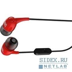 Внутриканальные наушники JBL T100RED (красный) - НаушникиНаушники и Bluetooth-гарнитуры<br>Наушники с микрофоном, вставные (quot;затычкиquot;), импеданс 16 Ом, чувствительность 100 дБ.