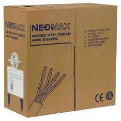 Кабель UTP, кат.5e, 4 пары, 305 м (Neomax NM10001) - КабельСетевые аксессуары<br>Патч-корд состоит из отрезка оптического кабеля с оптическими разъемами (коннекторами) на каждом конце.