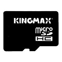 Kingmax microSDHC Class 4 Card 32GB + SD adapter