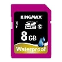 kingmax waterproof sdhc class 10 8gb