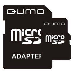Qumo MicroSD 2Gb + SD adapter - Карта флэш-памятиКарты флэш-памяти<br>Qumo MicroSD 2Gb + SD adapter - карта памяти microSD (TransFlash), объем 2 Гб, в комплекте адаптер на SD