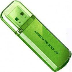 Silicon Power Helios 101 16Gb (зеленый) - USB Flash driveUSB Flash drive<br>Silicon Power Helios 101 16Gb - флэш-накопитель 16 Гб, интерфейс USB 2.0, материал корпуса: металл