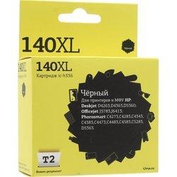 Картридж для HP Deskjet D4263, D4363, D5360, Officejet J5783, J6413, Photosmart C4273, C4283, C4343, C4383, C4473, C4483, C4583, C5283, D5363 (T2 IC-H336 №140XL) (черный) - Картридж для принтера, МФУКартриджи<br>Совместим с моделями: HP Deskjet D4263, D4363, D5360, Officejet J5783, J6413, Photosmart C4273, C4283, C4343, C4383, C4473, C4483, C4583, C5283, D5363.