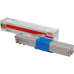 Тонер-картридж для OKI C301, C321, MC332, MC342 (44973543) (голубой) - Картридж для принтера, МФУКартриджи<br>Совместим с моделями: OKI C301, C321, MC332, MC342.
