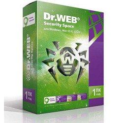 DR.Web Security Space 1 ПК 1 год  (BHW-B-12M-1-A3)  - Программное обеспечениеПрограммное обеспечение<br>Комплексное решение проблемы защиты ПК под управлением Windows.