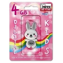 Mirex RABBIT 4GB (серый)