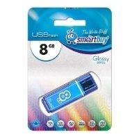 SmartBuy Glossy 8GB (голубой) - USB Flash drive
