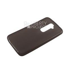 Силиконовый чехол-накладка для LG G2 D802 (R0005867) (черный) - Чехол для телефонаЧехлы для мобильных телефонов<br>Чехол защищает Ваше устройство от грязи, пыли, брызг и других нежелательных внешних повреждений.