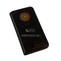 Чехол-книжка для Apple iPhone 6, 6s 4.7 (Liberti Project R0007075) (черный) - Чехол для телефонаЧехлы для мобильных телефонов<br>Чехол защищает Ваше устройство от грязи, пыли, брызг и других нежелательных внешних повреждений.