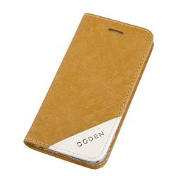 Чехол-книжка для Apple iPhone 6, 6s 4.7 (Ogden Sparkle R0007296) (коричневый) - Чехол для телефонаЧехлы для мобильных телефонов<br>Плотно облегает корпус и гарантирует надежную защиту от царапин и потертостей.