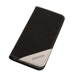 Чехол-книжка для Apple iPhone 6, 6s 4.7 (Ogden Sparkle R0007294) (черный) - Чехол для телефонаЧехлы для мобильных телефонов<br>Плотно облегает корпус и гарантирует надежную защиту от царапин и потертостей.