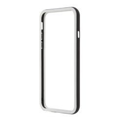 Чехол бампер для Apple iPhone 6, 6s 4.7 (R0006713) (белый с черным)  - Чехол для телефонаЧехлы для мобильных телефонов<br>Плотно облегает корпус и гарантирует надежную защиту от царапин и потертостей.