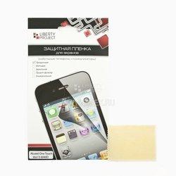 Защитная пленка для Alcatel One Touch Idol X 6040D (F0000015) (прозрачная) - ЗащитаЗащитные стекла и пленки для мобильных телефонов<br>Изготовлена из высококачественного полимера и идеально подходит для данной модели устройства.