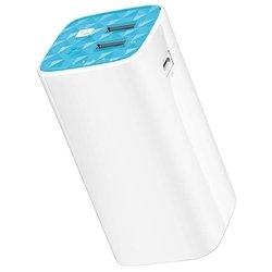 TP-LINK TL-PB10400 (белый) - Внешний аккумуляторУниверсальные внешние аккумуляторы<br>Аккумулятор емкостью 10400 мАч, максимальный ток 2 А, два разъема USB, переходник на micro USB, вес 241 г, фонарик, чехол.