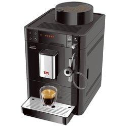 Melitta CAFFEO PASSIONE (черный) - Кофеварка, кофемашинаКофеварки и кофемашины<br>Melitta Caffeo Passione - кофеварка эспрессо (автоматическое приготовление), для зернового кофе, объём резервуара для воды 1.2 л, давление 15 бар, контроль крепости кофе, капучинатор.