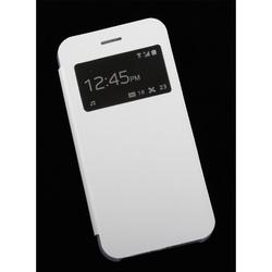 Чехол-книжка для Apple iPhone 6, 6S (Liberty Project R0007640) (белый) - Чехол для телефонаЧехлы для мобильных телефонов<br>Плотно облегает корпус и гарантирует надежную защиту от царапин и потертостей.