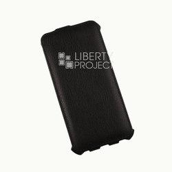 Чехол-книжка для Apple iPhone 6, 6S (Liberty Project R0006059) (кожа, черный) - Чехол для телефонаЧехлы для мобильных телефонов<br>Плотно облегает корпус и гарантирует надежную защиту от царапин и потертостей.