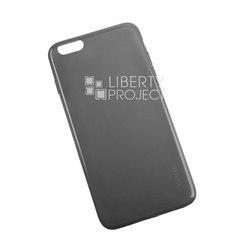 Чехол-накладка для Apple iPhone 6 Plus, 6s Plus (R0007594) (черный) - Чехол для телефонаЧехлы для мобильных телефонов<br>Плотно облегает корпус и гарантирует надежную защиту от царапин и потертостей.