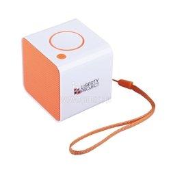 Liberty Project LP-168 (R0007638) (белый, оранжевый) - Колонка для телефона и планшетаПортативная акустика<br>Liberty Project LP-168 - звук моно, мощность 4 Вт, питание от батарей, Bluetooth, microSD