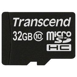 Transcend TS32GUSDC10 microSDHC 32GB - Карта флэш-памяти