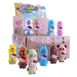 mimoco mimobot 9-pack case - hello kitty loves animals blotz blind box 2gb