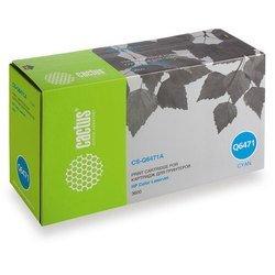 Картридж для HP Color LaserJet 3600 (Cactus CS-Q6471A) (голубой) - Картридж для принтера, МФУКартриджи<br>Картридж совместим с моделями: HP Color LaserJet 3600.