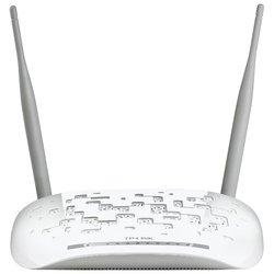 TP-LINK TD-W8968 - Wifi, Bluetooth адаптерОборудование Wi-Fi и Bluetooth<br>TP-LINK TD-W8968 - Wi-Fi-ADSL2+ точка доступа (роутер), стандарт Wi-Fi: 802.11n, макс. скорость беспроводного соединения: 300 Мбит/с, коммутатор 4xLAN, поддержка VPN, скорость портов 100 Мбит/сек, интерфейс встроенного принт-сервера: USB