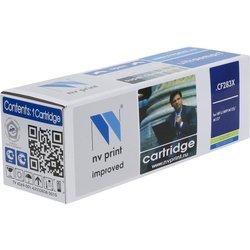 Картридж для HP LaserJet Pro M201dw, M201n, M225dw, M225rdn (NV Print CF283X) (черный, с чипом) - Картридж для принтера, МФУКартриджи<br>Совместим с моделями: HP LaserJet Pro M201dw, M201n, M225dw, M225rdn