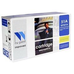 Картридж для HP LaserJet M3027, M3027x, M3035, M3035x, M3035xs, P3005, P3005D, P3005DN, P3005N, P3005X (NV Print Q7551A) (черный) - Картридж для принтера, МФУ