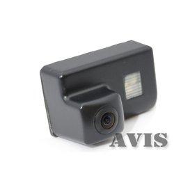 CMOS штатная камера заднего вида для PEUGEOT 206, 207, 307 SEDAN, 307SW, 407 (Avis AVS312CPR (#070)) - Камера заднего видаКамеры заднего вида<br>Штатная камера заднего вида незаметна и проста в установке. Разрешение в 420 линий и широкий угол обзора дают полную информацию всего происходящего сзади, класс пыле- и влагозащиты IP67.