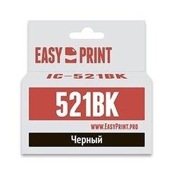 Картридж для Canon PIXMA iP3600, iP4600, iP4700, MP540, MP550, MP560, MP620, MP630 (EasyPrint IC-CLI521BK) (черный)  - Картридж для принтера, МФУКартриджи<br>Совместим с моделями: Canon PIXMA iP3600, iP4600, iP4700, MP540, MP550, MP560, MP620, MP630, MP640, MP980, MP990, MX870.