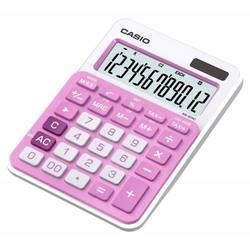 Калькулятор настольный Casio MS-20NC-PK-S-EC (розовый) - КалькуляторКалькуляторы<br>Калькулятор настольный Casio MS-20NC-PK-S-EC - дисплей 12 разрядов, однострочный монохромный, двойное питание, крупные цифры и кнопки, операции с процентами, вычисление квадратного корня, клавиша quot;00quot;.
