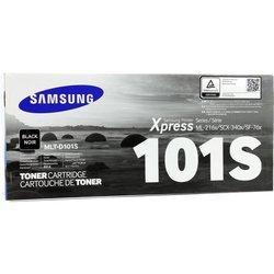 Тонер-картридж для Samsung ML-2160, 2165, 2167, 2168, 2165W, 2168W, SCX-3400, 3405, 3407, 3405W, 3400F, 3405F, 3405FW (MLT-D101S/SEE) (черный) - Картридж для принтера, МФУ