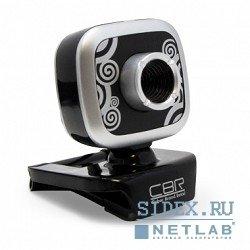 CW-835M (черно-серебристый) - Веб камераВеб-камеры<br>Веб-камера с матрицей 1.3 мегапикс. , разрешение видео 1280x1024, подключение через USB 2.0, встроенный микрофон, ручная фокусировка, совместима с Windows