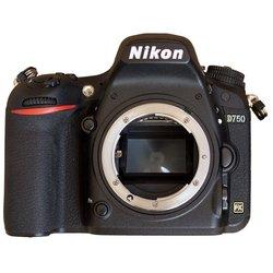 Nikon D750 Body (черный) - Фотоаппарат цифровойЦифровые фотоаппараты<br>Nikon D750 Body - 24.93 МП, размер матрицы: Full frame, SD, поддержка RAW, Wi-Fi, скорость съемки: 6.50 кадров/с, видео разрешением до 1920x1080, 750 г