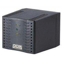 Powercom TCA-2000 (черный) - Стабилизатор напряженияСтабилизаторы напряжения<br>Предназначен для применения в быту или офисе там, где необходима защита от нестабильности питающего напряжения и электромагнитных помех.
