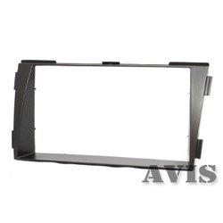 Переходная рамка для Hyundai NF (2008-2010) (AVIS AVS500FR (#042)) (серый) - Рамка переходнаяРамки переходные<br>Переходная рамка для установки универсальных головных устройств 2DIN вместо штатных.