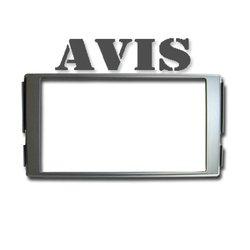 Переходная рамка для Hyundai Santa FE 2 (AVIS AVS500FR (#045)) (серый) - Рамка переходнаяРамки переходные<br>Переходная рамка для установки универсальных головных устройств 2DIN вместо штатных.