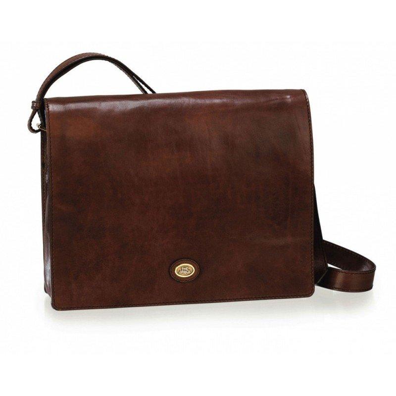 ddd645a549ca РосТест - официальная гарантия производителя сумка-планшет the bridge  36x27x9.5см черная натур кожа (05296001-20)