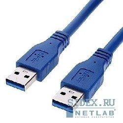 Кабель Gembird USB 3.0 (Cablexpert Pro CCP-USB3-AMAM-6) 1.8м (синий) - КабелиUSB-, HDMI-кабели, переходники<br>Интерфейсный кабель для подключения внешних USB -устройств к USB -порту компьютера. Экранировка для снижения помех, позолоченные контакты.