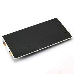 Дисплей для Sony Xperia Z1 L39H с тачскрином (TOP-SX-Z1-W) (белый) - Дисплей, экран для мобильного телефонаДисплеи и экраны для мобильных телефонов<br>Дисплей с рамкой выполнен из высококачественных материалов и идеально подходит для данной модели устройства.