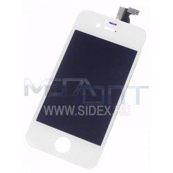 Дисплей для Apple iPhone 4S модуль в сборе (12207) (белый) - Дисплей, экран для мобильного телефонаДисплеи и экраны для мобильных телефонов<br>Дисплей выполнен из высококачественных материалов и идеально подходит для данной модели устройства.