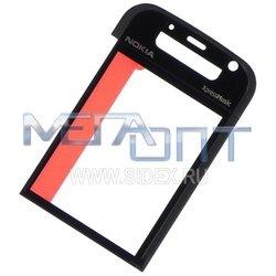 Стекло корпуса для Nokia 5730 в рамке (10287) (монохромное) - Мелкая запчасть для мобильного телефонаМелкие запчасти для мобильных телефонов<br>Стекло поможет уберечь дисплей от внешних воздействий и надолго сохранит работоспособность устройства.
