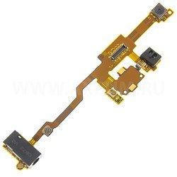 Шлейф для Nokia X6 с аудио разъемом и камерой (11061) - Шлейф для мобильного телефонаШлейфы для мобильных телефонов<br>Шлейф в мобильном телефоне – маленькая, но неотъемлемая часть конструкции, представляющая собой систему контактных проводов, которая соединяет различные детали телефона.