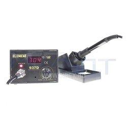 Паяльник ELEMENT 937D (15288) - Паяльное оборудованиеПаяльное оборудование<br>Паяльник с регулировкой температуры. Потребляемая мощность: 50Вт.