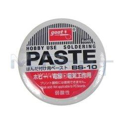 Флюс активный GOOT BS-10 (9142) - Паста, припойСопутствующие товары для пайки<br>Высокая активность позволяет паять даже окисленные поверхности из черных и цветных металлов.