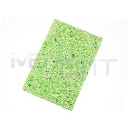 Губка для очистки паяльников (12811) (зеленая) - Запчасть к паяльникам и паяльным станциямЗапчасти к паяльникам и паяльным станциям<br>Губка для удаления окислов и избытков припоя с поверхности жала