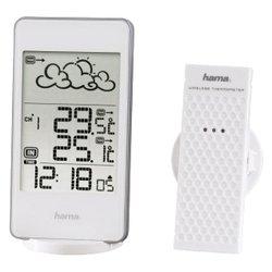 Погодная станция Hama EWS-850 (белый) - Цифровая метеостанция